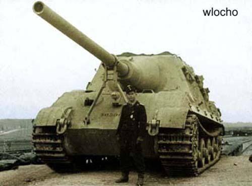 Panzerjäger VI - Jagdtiger (SdKfz 186) Panzerjäger Tiger Ausf. B - Porsche suspension
