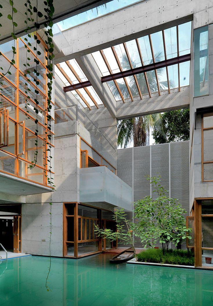 S.A Residence, Dhaka, Bangladesh   Rafiq Azam   Bustler