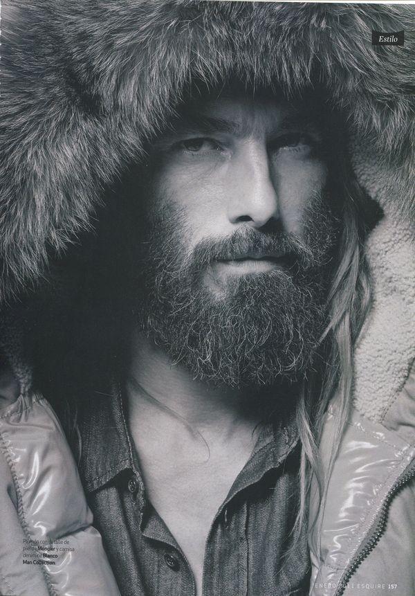 Well-trimmed-mustache Beard