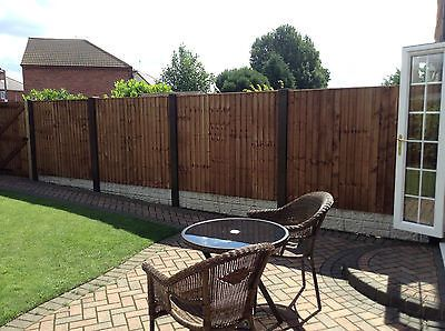 Concrete Fence Post Extender NO Digging Required Raise THE Height Complete Cover | eBay