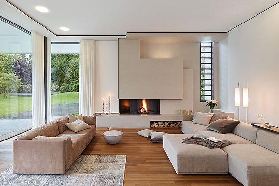 Wohnideen, Interior Design, Einrichtungsideen \ Bilder Villas - abgehängte decke wohnzimmer