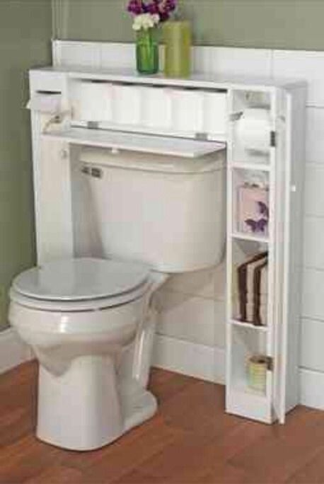 Great Over-The-Toilet Storage. | Perfect storage and organization for a tiny home
