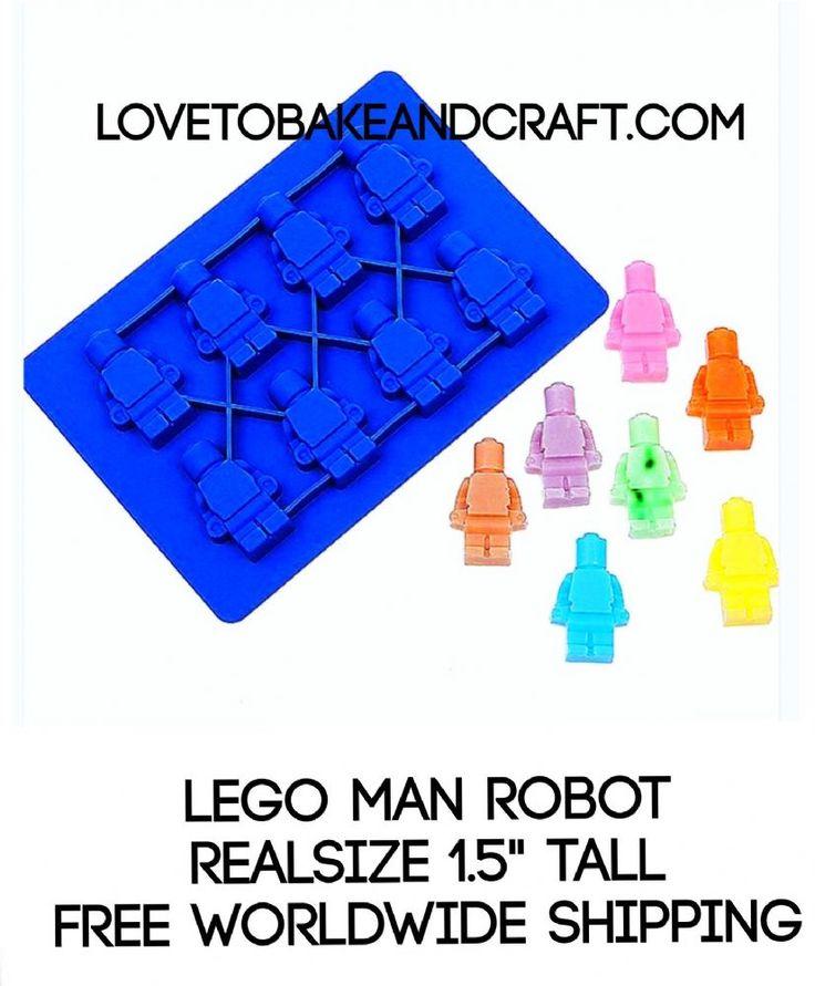 LEGO MAN MOLD LEGO MAN LEGO MOLD LEGO MAN MOULD ROBOT MOULD LEGO ROBOT LEGO MOLD LEGO MOULD Each LEGO MAN measures 1 5 Food grade high quality