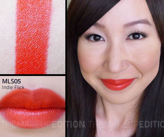 Nyx Lipstick Indie Flick NYX Matte Lipsticks | ...