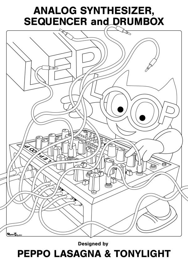 Lep Loop Graphics by Christer Nuutinen, via Behance