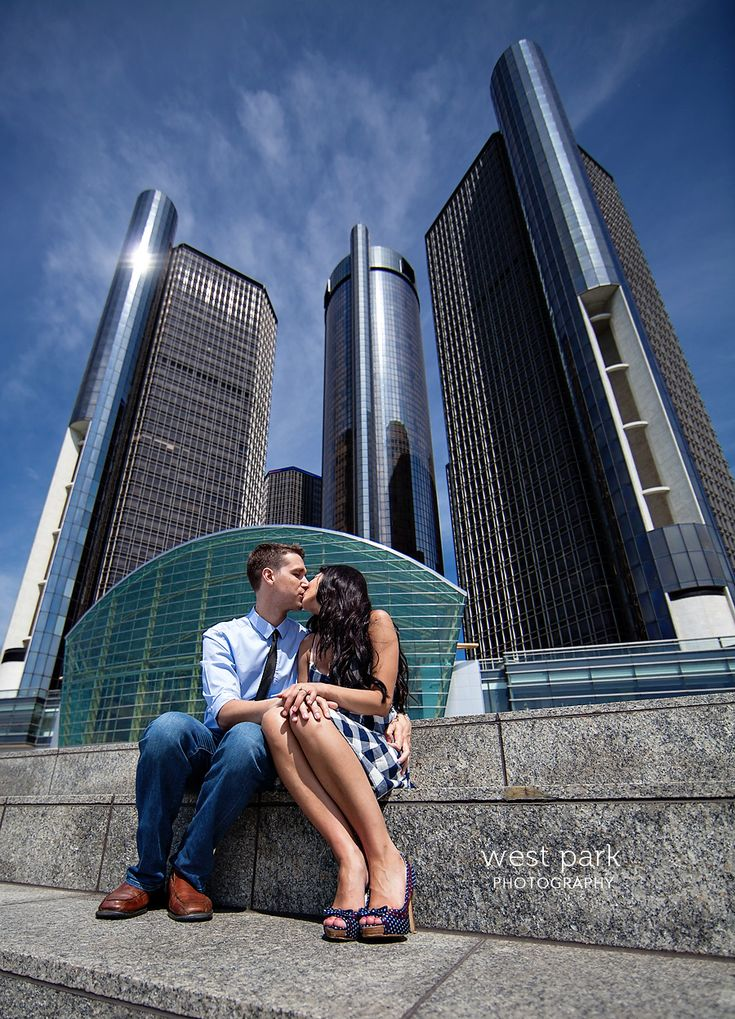 Detroit Engagement Session - Crystal & Sam
