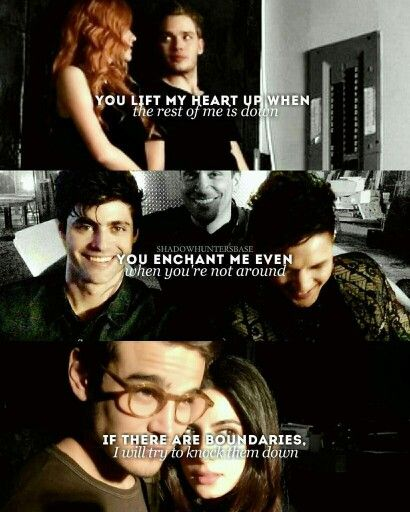 Tv Quotes Tumblr: Shadowhunters #clace #sizzy #malec Tumblr