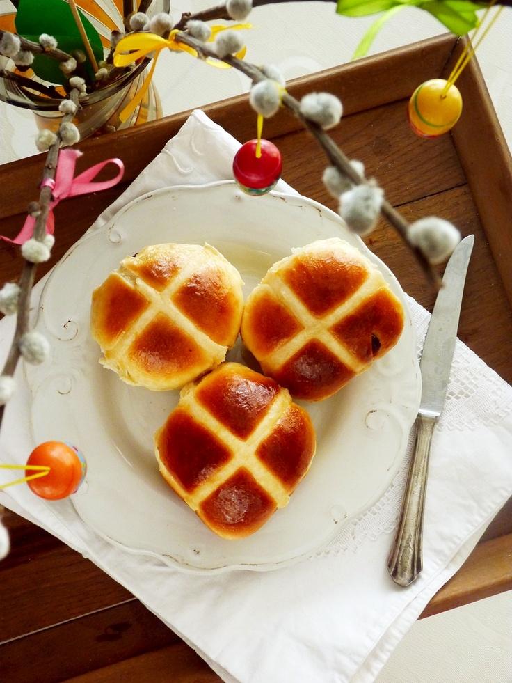 citromos-barackos hot cross bun