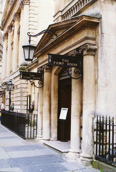 The Pump Room in BATH, ENGLAND-featured in Jane Austen's Northanger Abbey (also a Jane Austen Museum there)
