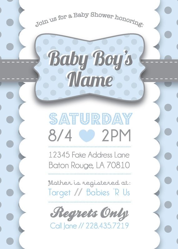 105 best baby shower images on pinterest baby shower boys baby baby boy shower invitation with thank you card printables stopboris Images