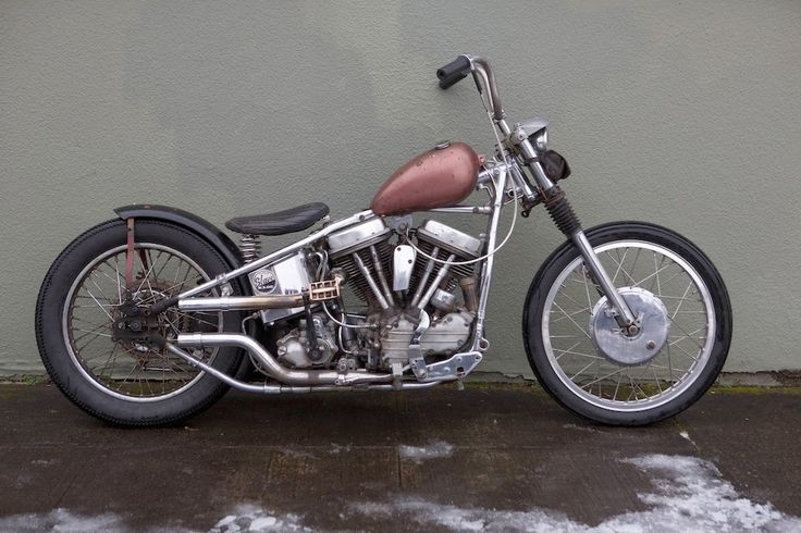 1961 Harley Davidson Panhead Chopper drumbrake