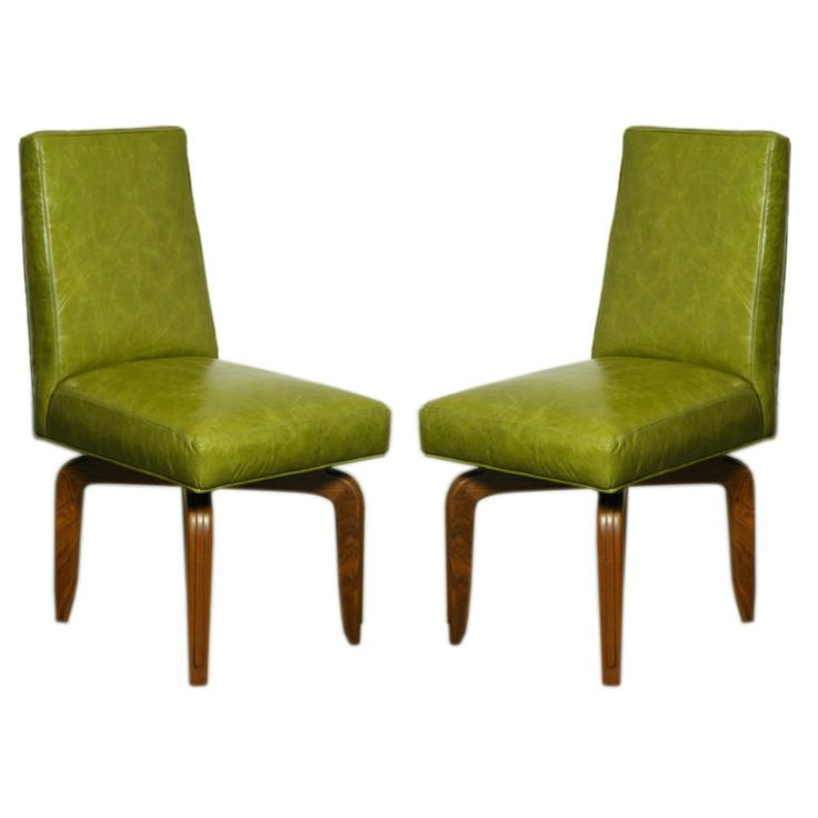 25 Best Ideas about Leather Dining Room Chairs – Green Leather Dining Chairs