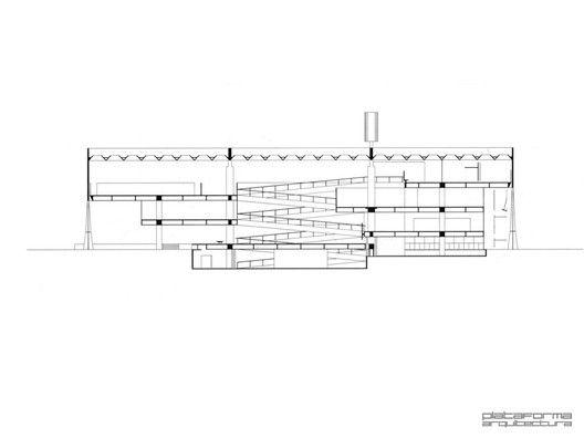 Clásicos de Arquitectura: Facultad de Arquitectura y Urbanismo, Universidad de Sao Paulo (FAU-USP) / João Vilanova Artigas y Carlos Cascaldi,sección