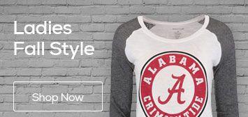 Alabama Apparel, Alabama Crimson Tide Gear, Merchandise, University of Alabama Store