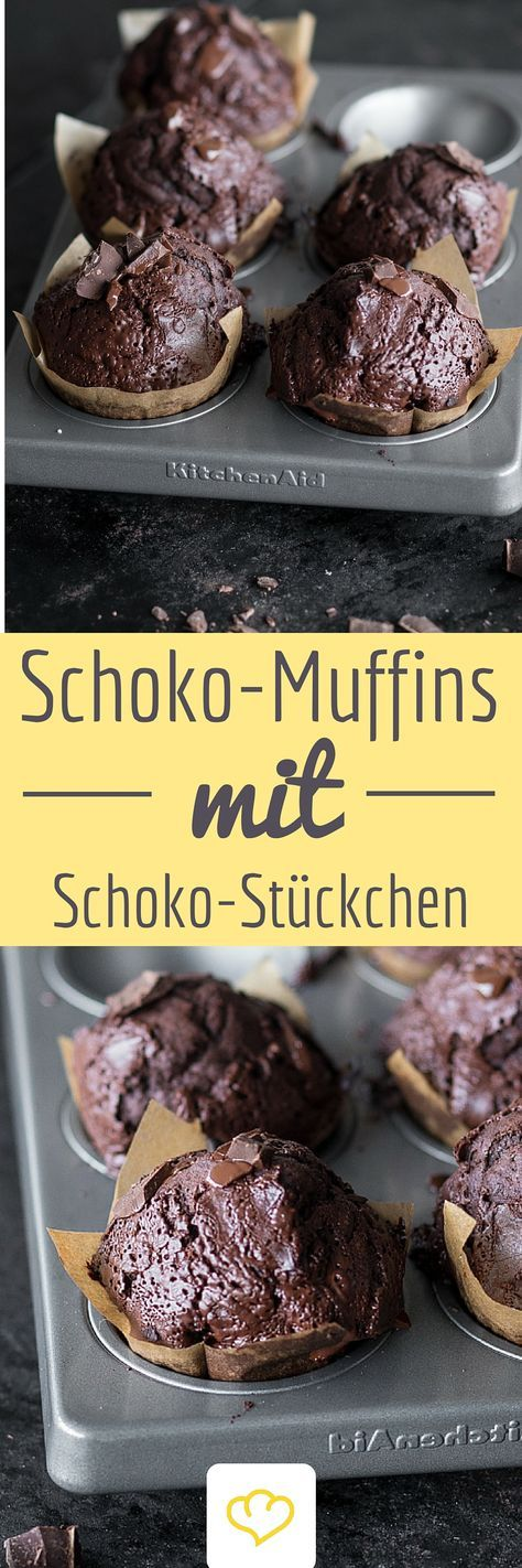 Double-Chocolate Muffins - Für all die, für die es einfach nicht schokoladig genug sein kann!