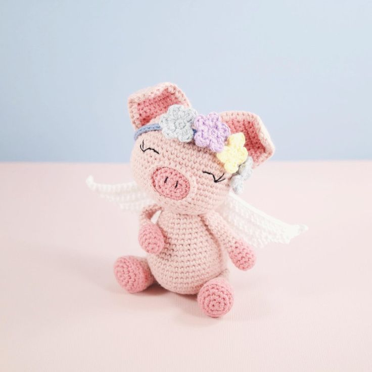 Pippa the Pig Crochet pattern by LittleAquaGirl