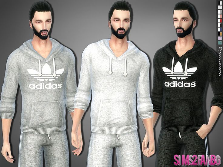 .:287 - Athletic sweatshirt:.  Found in TSR Category 'Sims 4 Male Everyday'