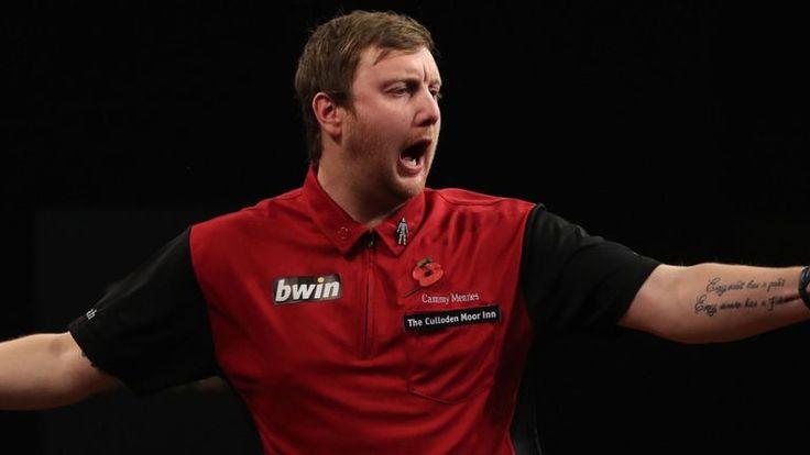 Cameron Menzies hits nine-darter against Jamie Caven in PDC | Darts News | Bible Of Sport