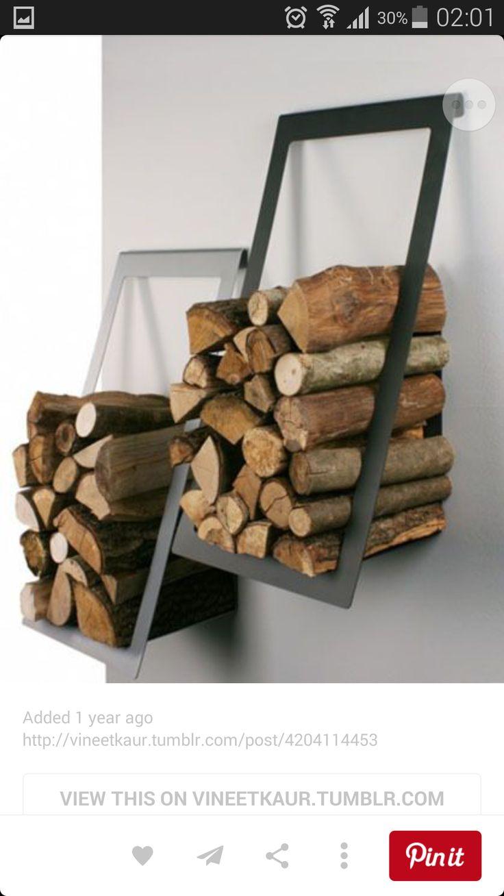 die 25+ besten innen brennholz rack ideen auf pinterest