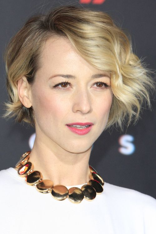short layered ombre bob hairstyle
