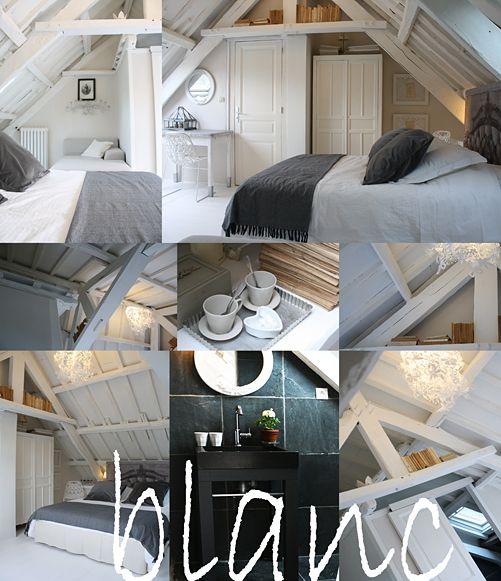 """La maison des LAMOUR - Vacances aux chambres d'hôtes et gîtes de charme – La chambre """"Blanc"""" – Côtes d'Armor - Bretagne"""