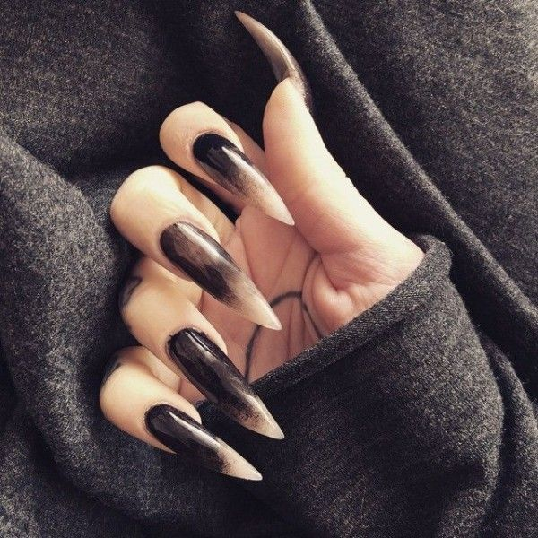 12 Goth Nail Art (Gallery 3) - Gothic Life