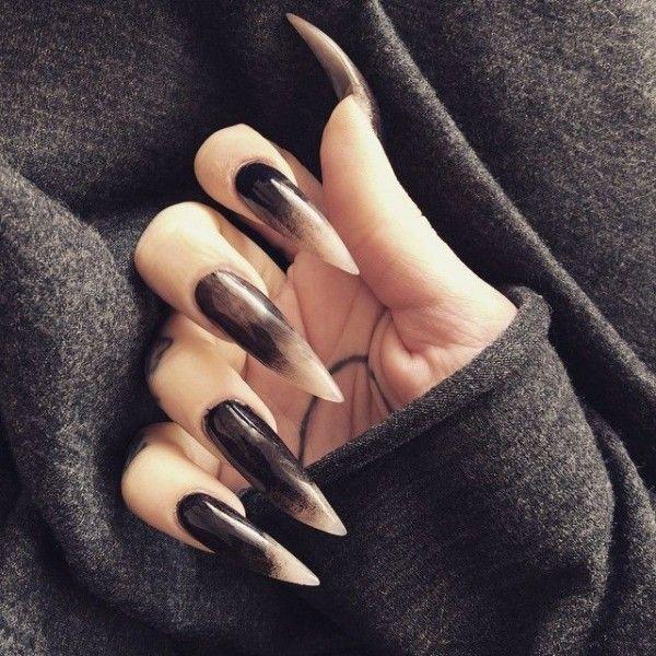 12 Goth Nail Art (Gallery 3) - Gothic Life