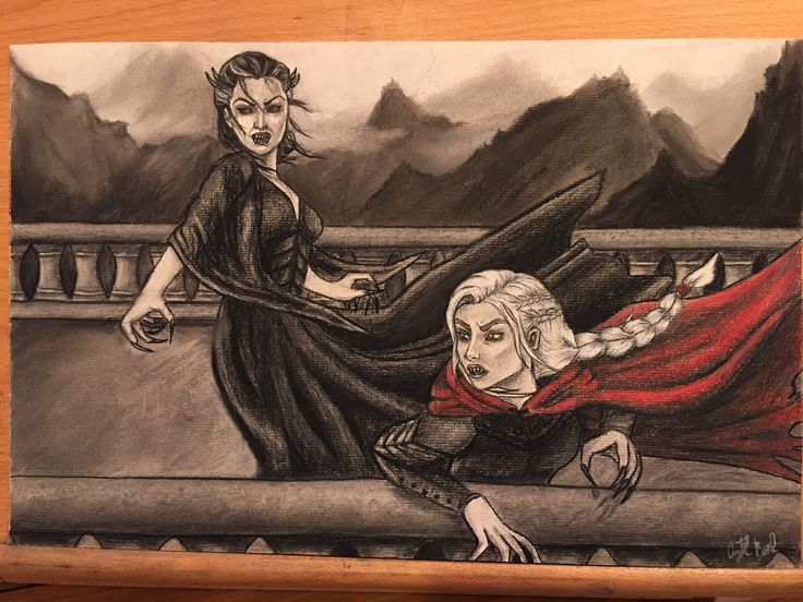 Manon fighting her grandmother in EoS.
