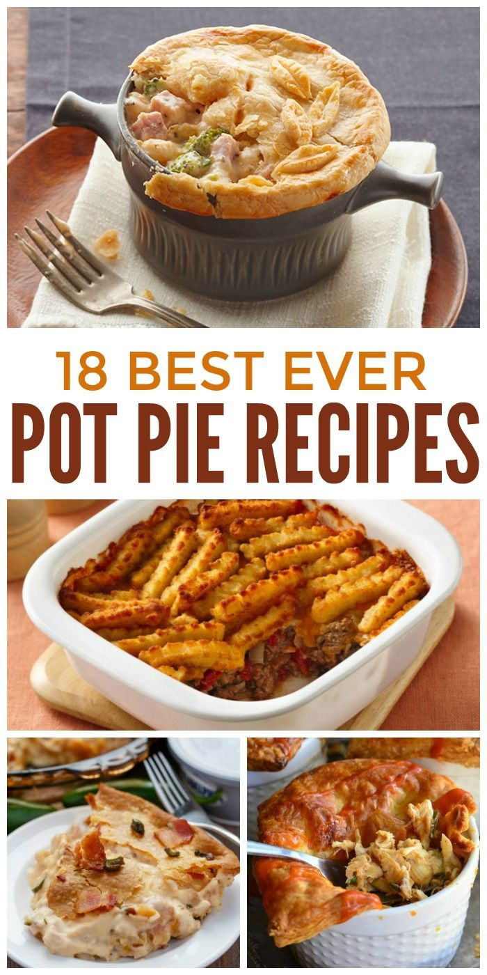 We're all about easy meals for families, and pot pie recipes are surprisingly easy. Really they are! Not only are they hot and delicious, they're the type of hearty stick-to-your-ribs food that your grandma used to make. That said, some of these recipes will surprise you… some are definitely not your grandma's pot pies. So whether you're craving traditional comfort food or want to kick your pot pie game up a notch, we've got the perfect recipe for you.