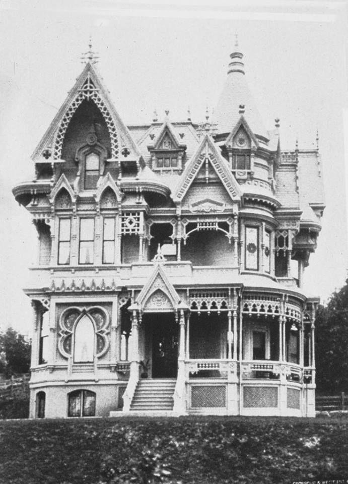 C M Forbes Mansion Built In 1887 In Portland Oregon