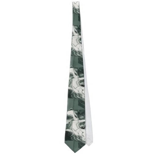 Land Formations Abstract Art Tie, by FOMAdesign