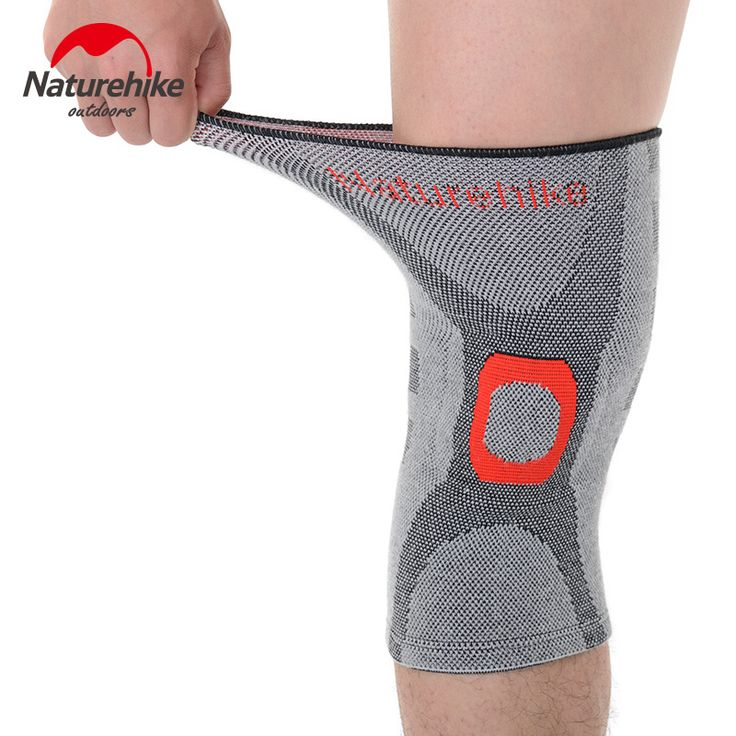 NatureHike Elastic Knee Support Brace Kneepad Volleyball Adjustable Knee Pads Basketball Safety Guard Strap M L XL -- Offer can be found by clicking the image