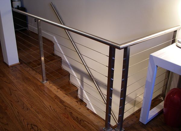 cable stair railings