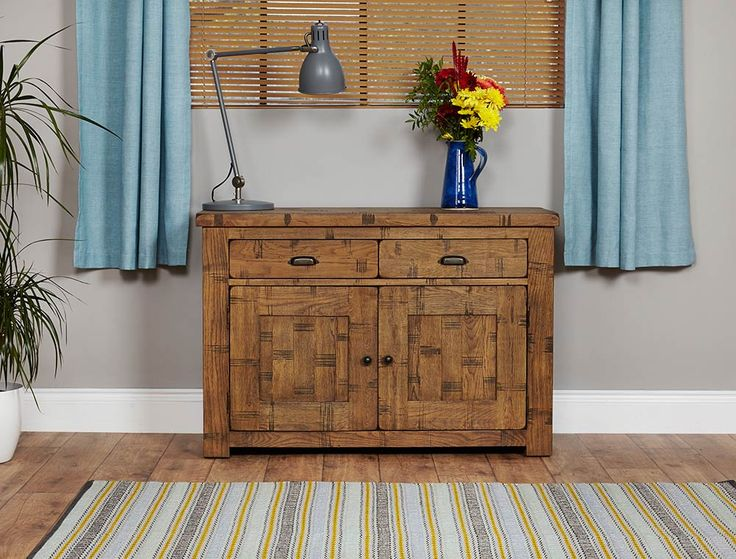 Heyford Oak Small Sideboard