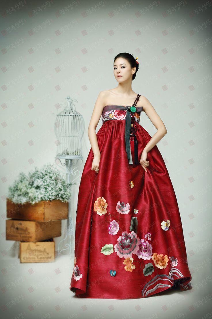 Super pretty fusion hanbok