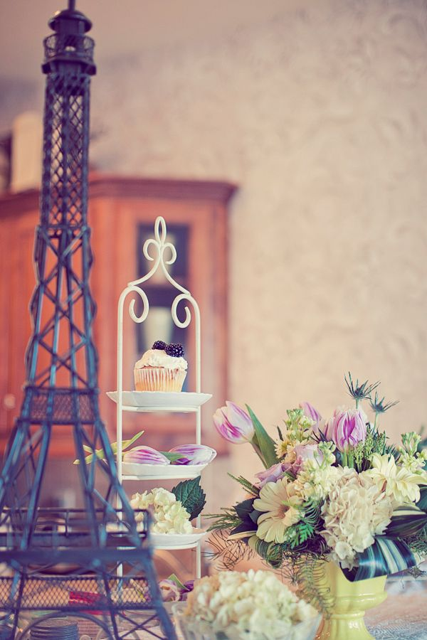 An elegant and lovely Purple Parisian themed