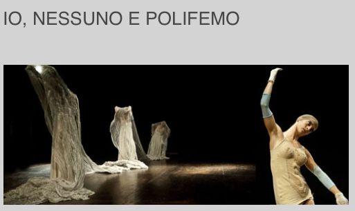 Io Nessuno e Polifemo ~ Emma Dante #teatro Franco Parenti #Milano