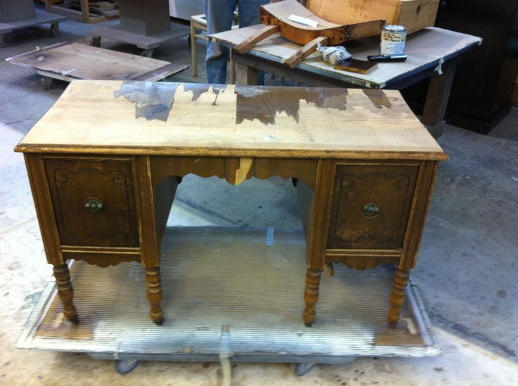 #make-up #dresser to be converted to 2 #night #stands by AM Furniture Finishing
