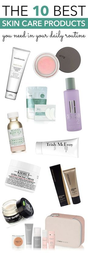 10 Best Skin Care Products You Need In Your Daily Routine - Society19