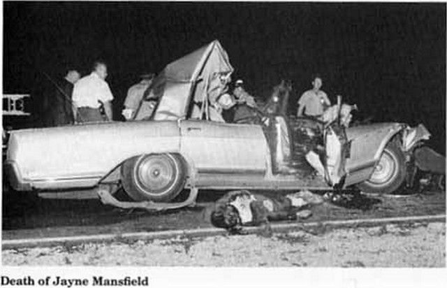 Francoise dorleac accident google search crash lets for How old was jayne mansfield when she died