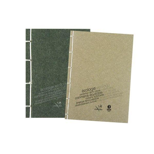 Carnet personnalisable écologique TURNIP - Objet de communication écologique