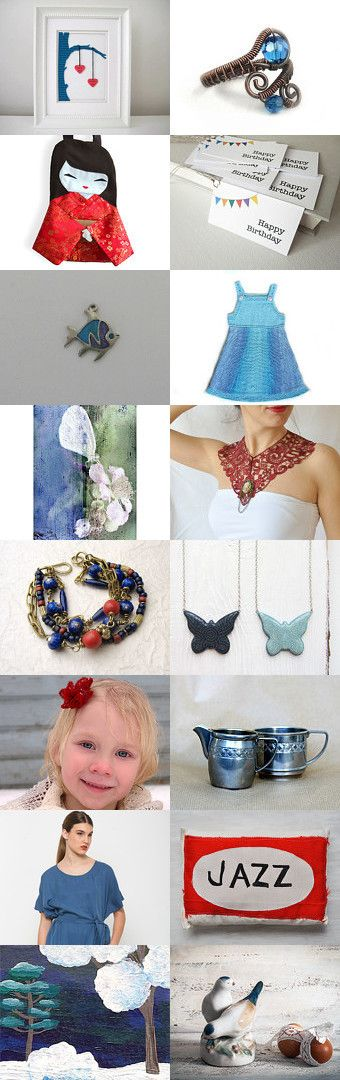 Thin red line... by Nilgun on Etsy--Pinned with TreasuryPin.com