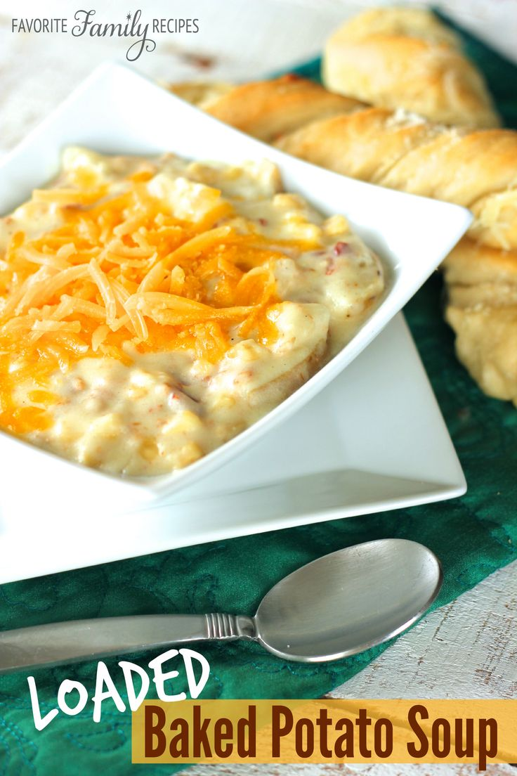 This loaded baked potato soup is so yummy and has a mix of great flavors, we can't get enough of it around here, especially when it is cold outside!