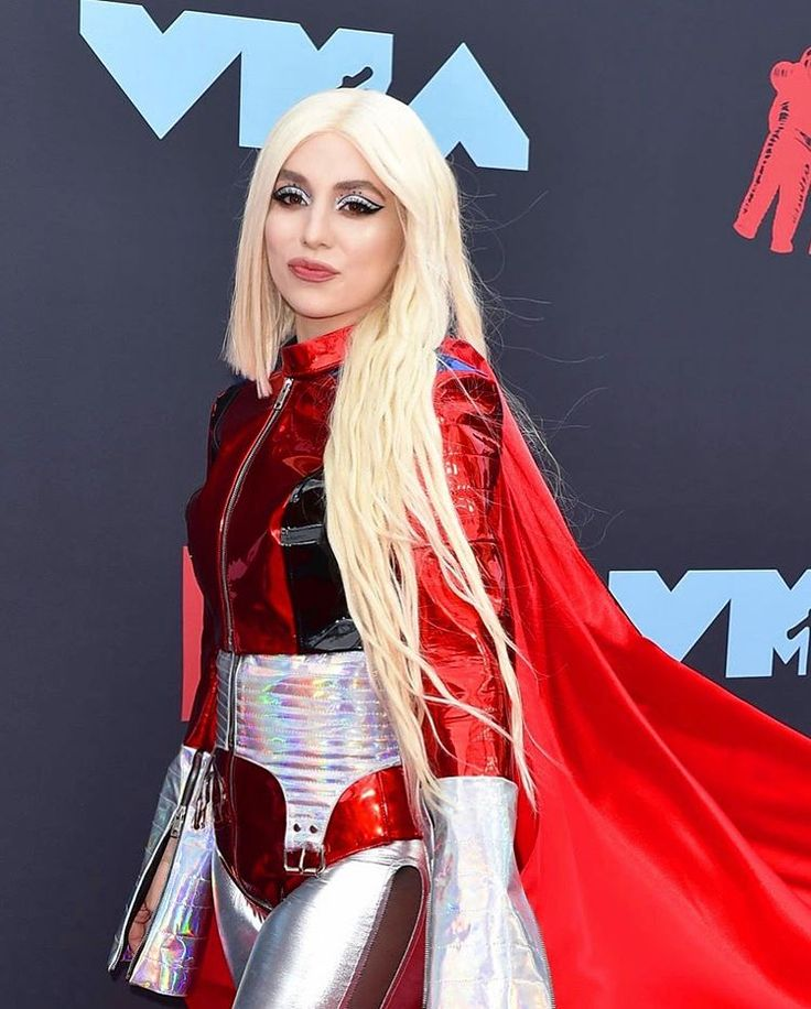 Ava max on instagram this superhero outfit represents