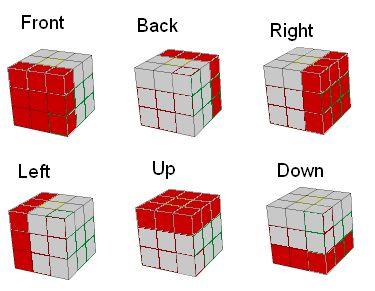rubik cube algorithm list - Google Search