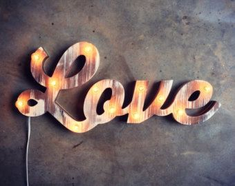 14 best images about Marquee Letters or Words on Pinterest Indoor outdoor, Light led and ...