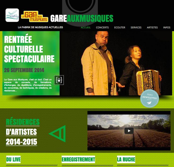 La nouvelle saison de la Gare aux Musiques de #Louviers est en ligne !
