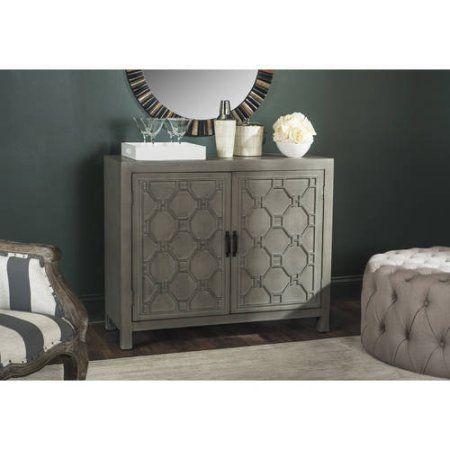 Safavieh Selas 2-Shelf Storage Chest, Multiple Colors, Gray