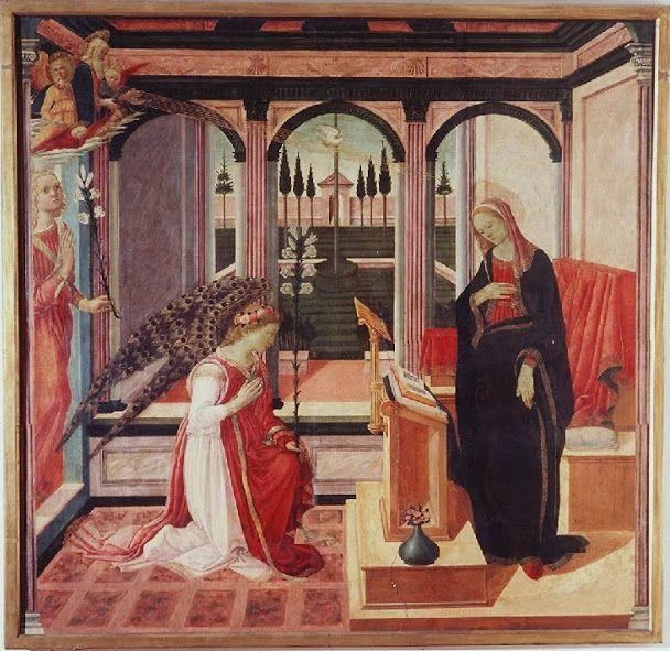 Annunciazione (1472 circa; Firenze, Galleria dell'Accademia)