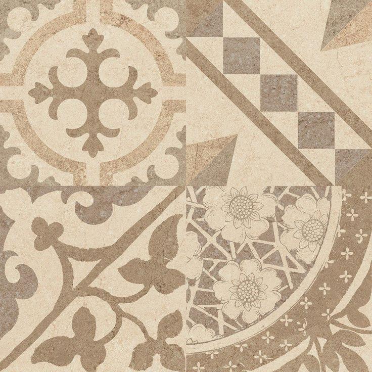 Riviera Bone Tile Designs for Decorative Flooring